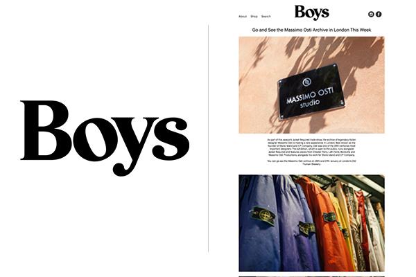 Boys magazine